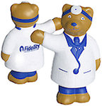 Doctor Bear Stress Balls